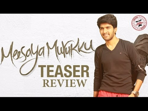 Meesaya Murukku Teaser Review By Review Raja - Hiphop Tamizha, Vivek, Rj Vignesh