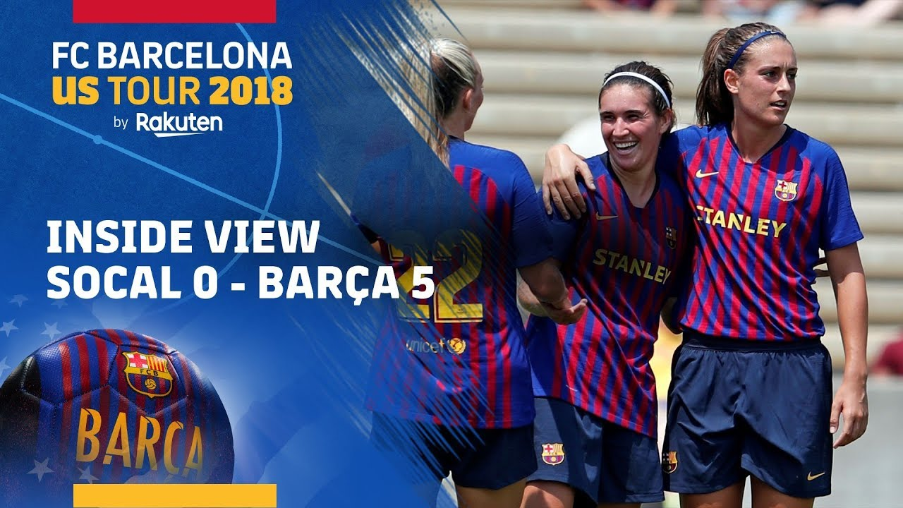 new arrival 4b8c6 56bb7 INSIDE TOUR #4 | First Barça women's team match at the USA