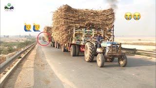 Ford 4610 | Belarus MTZ50 | Ford 4600 Tractor Together Crossing Motorway Bridge | Punjab Tractors