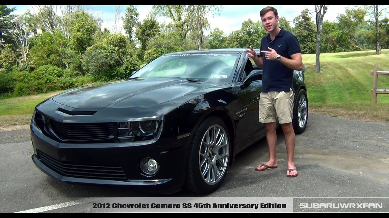 Review 2012 Chevy Camaro SS 45THR YouTube