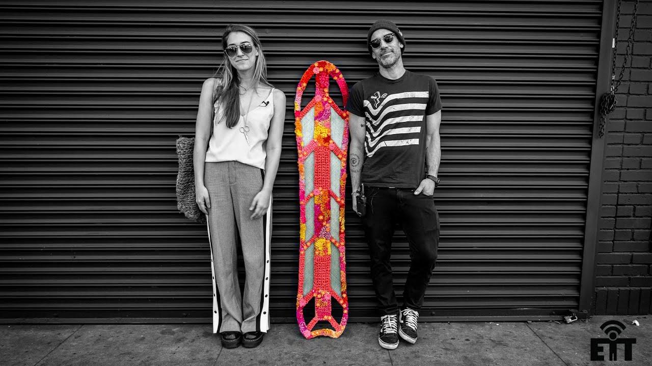 Every Third Thursday : Yarn Bomb Snowboard