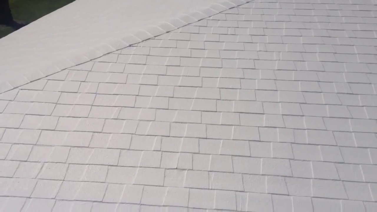 Lanco Elastomeric Roof Coating June 2013   YouTube