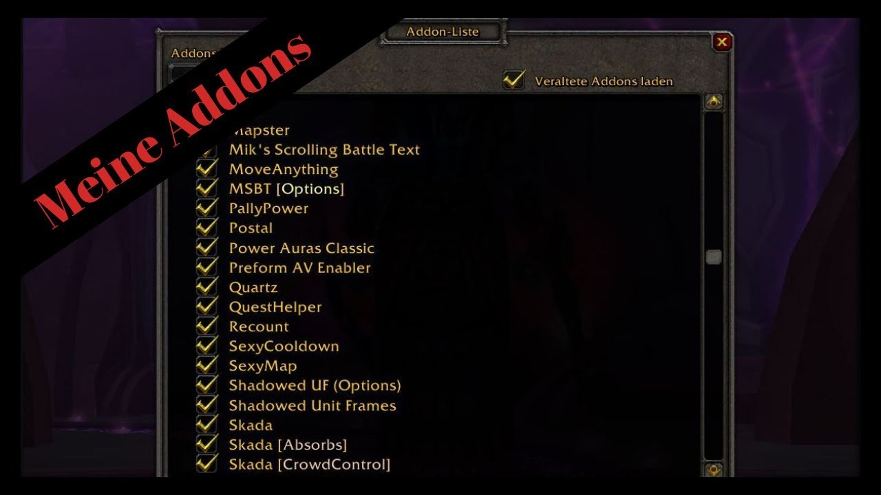 Warmane wow addons