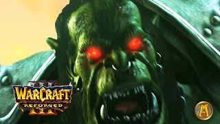 Hellscream Kills Mannoroth - Thrall Meets Jaina - All Cutscenes [Warcraft 3: Reign of Chaos]