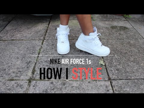 how to wear air force 1 with shorts