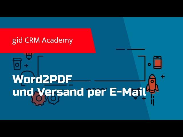 CRM CAS genesisWorld - Word2PDF Modul für Smartdesign