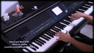 Spice and Wolf II OP - Mitsu no Yoake (蜜の夜明け) - (Extended TV size) Piano arrangement