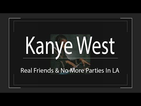 """Kanye Releases New Music! """"Real Friends"""" & """"No More Parties In LA Ft. Kendrick Lamar"""""""
