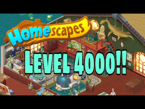 HOMESCAPES - Gameplay Walkthrough Part 148 - Level 4000