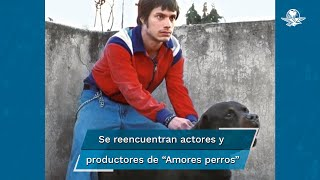 """Este miércoles 29 de octubre, en una conferencia virtual del Festival Internacional de Cine de Morelia, actores, actrices, productores, y el director Alejandro González Iñárritu, de la película mexicana """"Amores perros"""" (2000) se reunieron para recordar anécdotas de esta cinta que cumple 20 años"""
