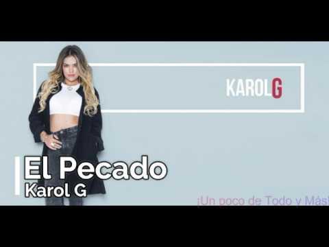 Karol G - El Pecado (Lyrics)