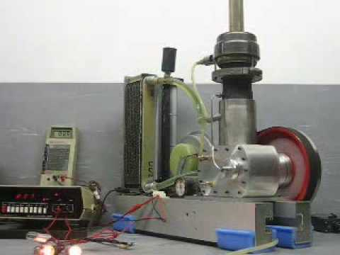 Rhombic Drive Stirling Engine Part 4