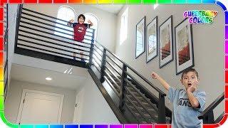 I Found A Secret Portal To Ryan's Toys Review House #6 😍🤣🤣