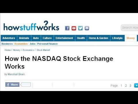 How-To Compare Nasdaq To The American Stock Exchange