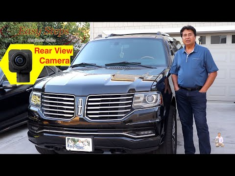 How To Replace Rear View Camera  Lincoln Navigator
