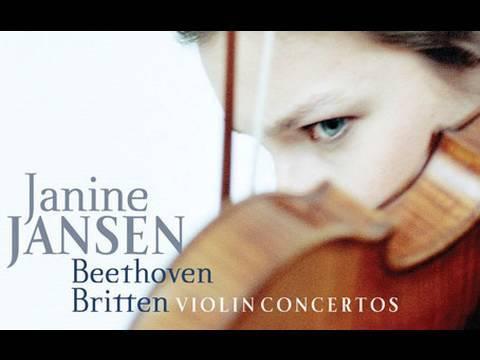 Janine Jansen : Beethoven & Britten Violin Concertos