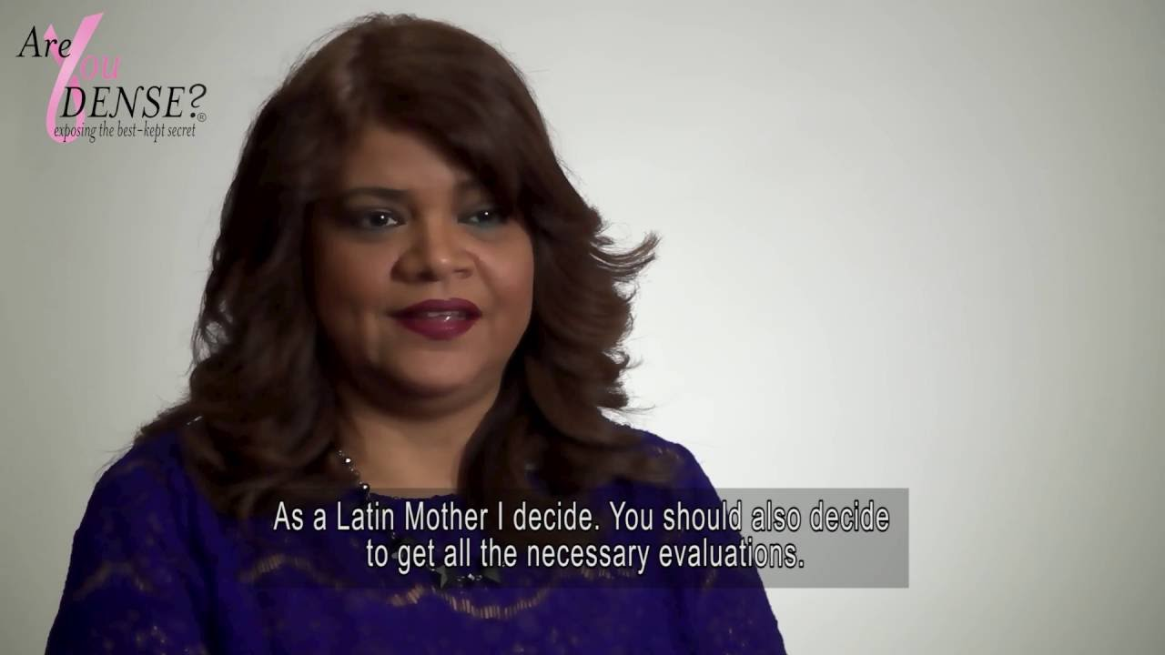 Are you Dense? Breast Health video in Spanish