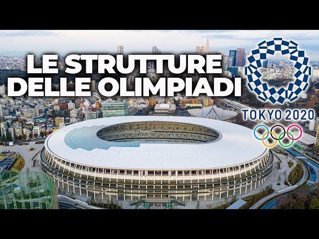 OLIMPIADI DI TOKYO 2020: I LUOGHI E LE STRUTTURE CHE OSPITERANNO I GIOCHI OLIMPICI