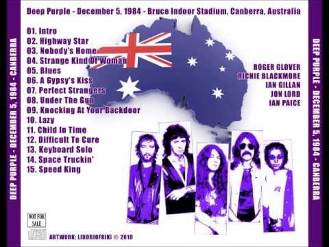 1984-12-05 - Bruce Indoor Stadium, Canberra, Australia