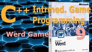 Intermediate C++ Game Programming DirectX [Word Game] Tutorial 9 thumbnail