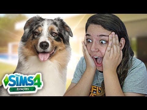 MEU CACHORRO VOLTOU! - The Sims 4 Estações