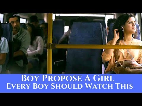 Boy Propose A Girl | Every Boy Should Watch This