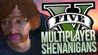 GTA 5 Grand Theft Auto 5 PC - Multiplayer Online Heists - GTA 5 Funny Moments [PC]