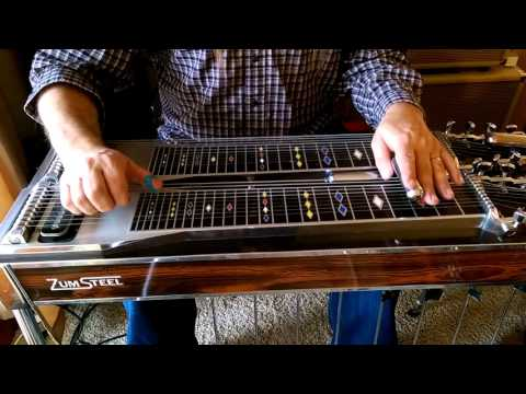 Tuning the E9th pedal steel guitar