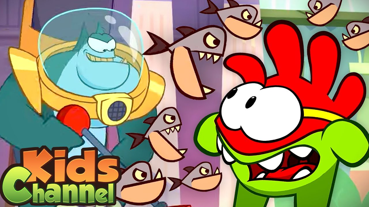Piranha Man   Om Nom Cartoon Videos   Stories for Babies from Kids Channel