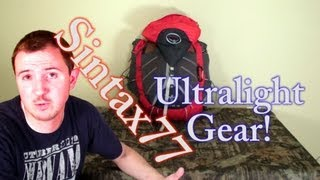 2014 Ultralight Backpacking Gear List