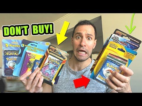 Opening EVERY 3rd Party POKEMON CARDS Boxes From WALMART And TARGET!