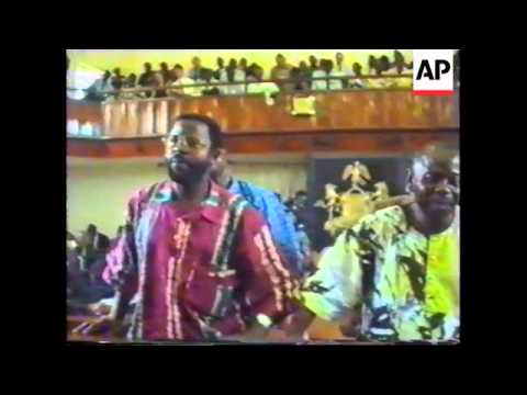 Nigeria - Saro-Wiva Execution Backgrounder