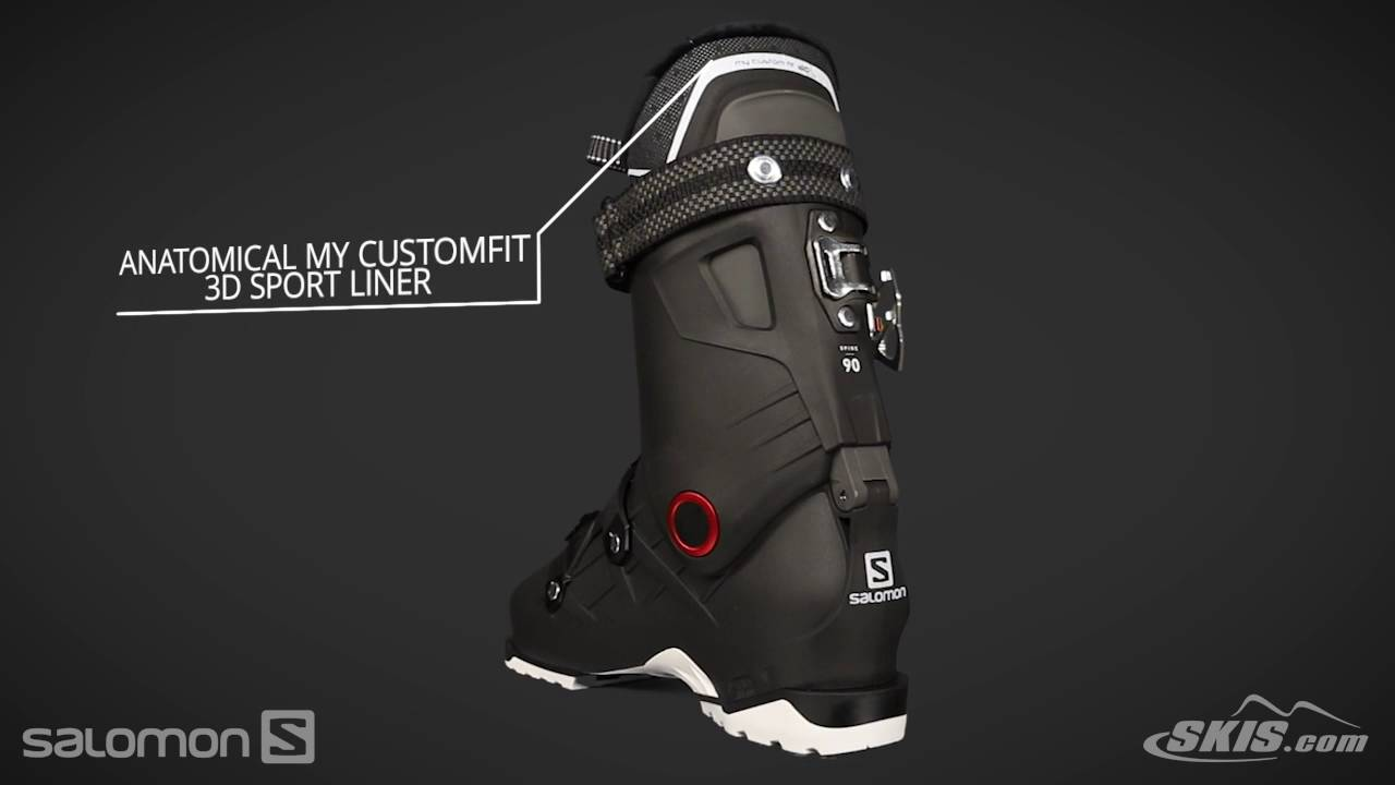 2018 Salomon QST Pro 90 Mens Boot Overview by SkisDotCom