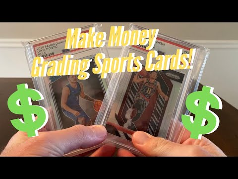 How To Make Thousands On Sports Cards! Grading Cards With PSA!!!
