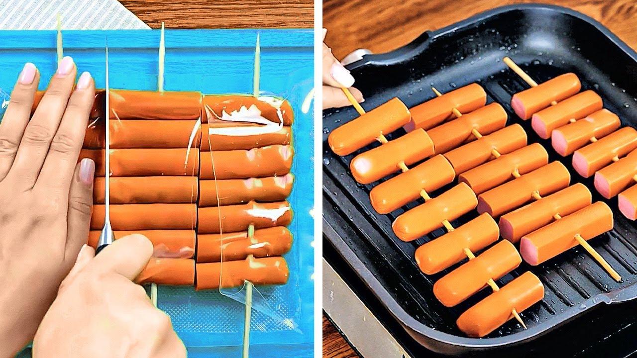 طرق مبتكرة لطهي الطعام