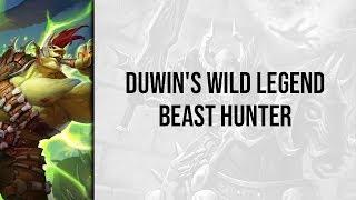 Duwin's Wild Legend Beast Hunter   Descent of Dragons   Wild Hearthstone