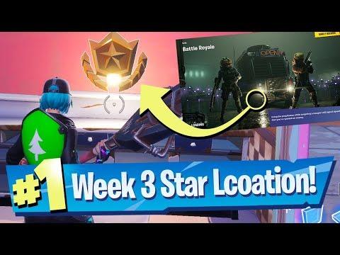 Fortnite Season 10 Week 3 Secret Battle Pass Star Location