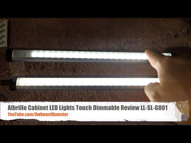 albrillo cabinet led lights touch