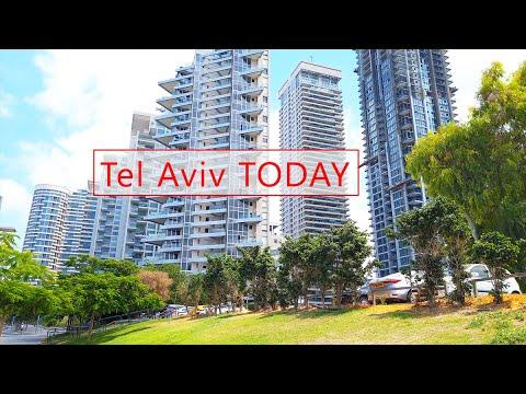 Tel Aviv CENTER, Israel. Virtual Video Walk