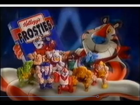 1995 Frosties Monster Wrestlers Advert