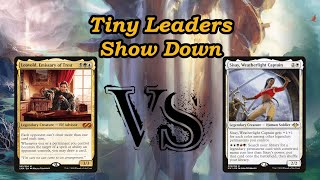 Into the 99 Tiny Leaders | Sisay, Weatherlight Captain Vs Leovold, Emissary of Trest