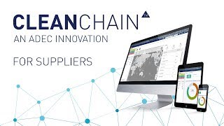 CleanChain for Suppliers - Chemical and Supply Chain Management Image