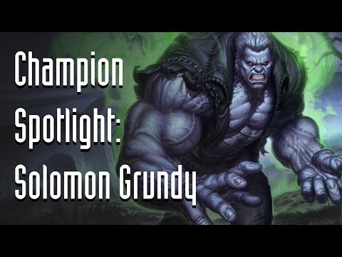 Infinite Crisis Champion Spotlight: Solomon Grundy