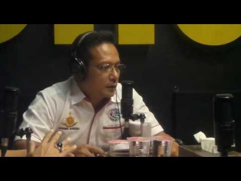Dialog interaktif Radio Sonora tentang Bahaya Narkoba oleh Wadir Resnarkoba Polda Jateng