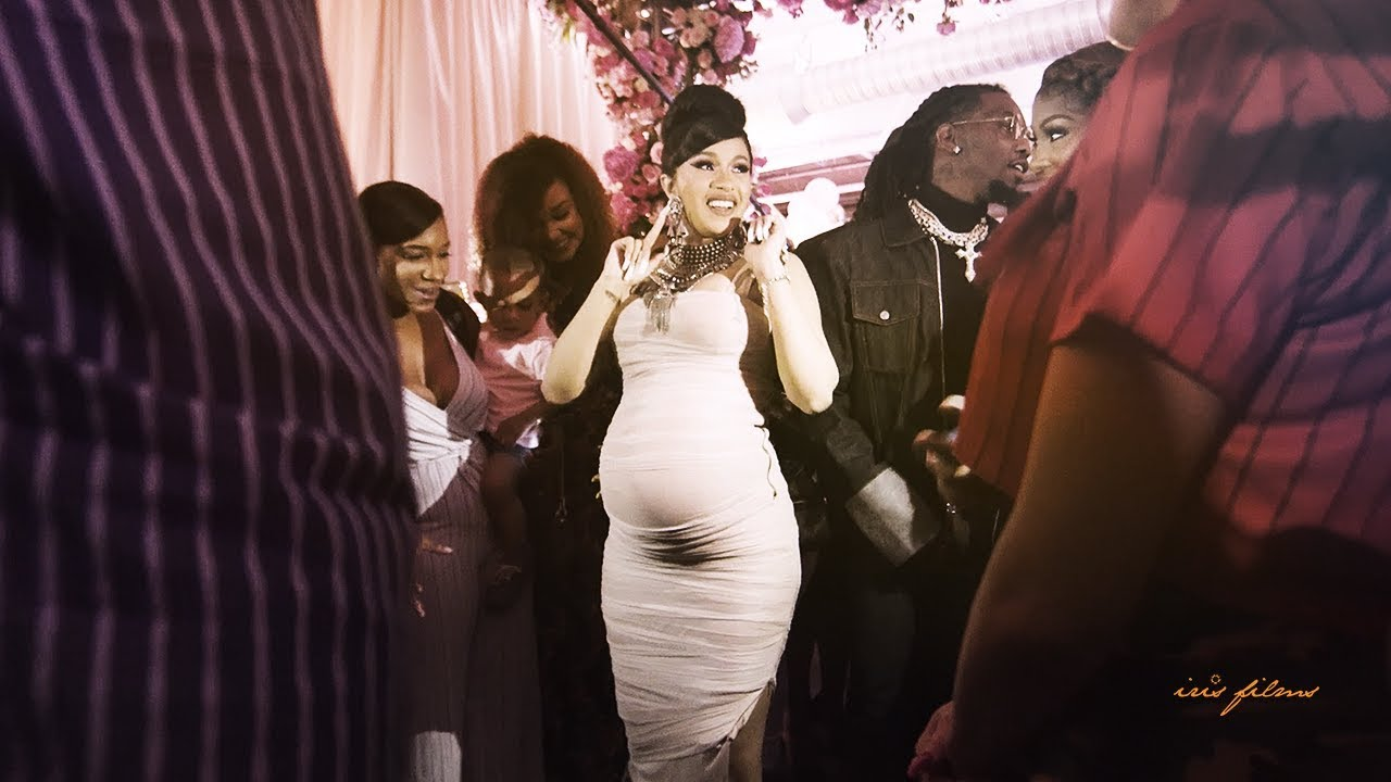 Cardi B S Bardi Baby Shower Official Video Youtube