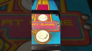 Ms. Pac-Man original joystick and buttons stand-up arcade