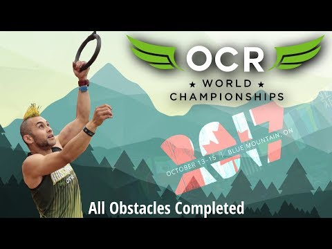 OCRWC 2017 - All obstacles completed, wrist band intact, FPP
