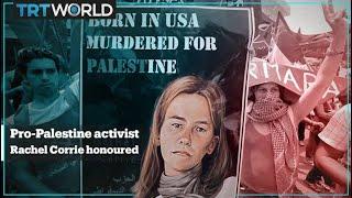 Pro-Palestine activist Rachel Corrie awarded 'Freedom Star' posthumously