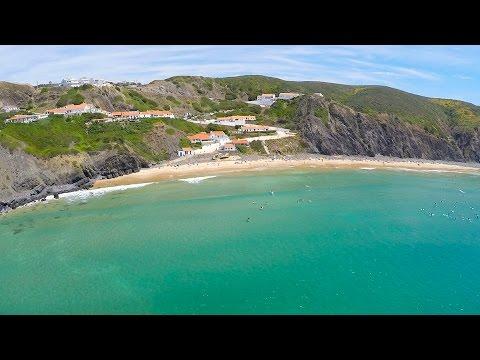 Arrifana Beach Surf aerial view - Aljezur - Algarve