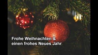 Weihnachtsgrüße für DICH – Frohe Weihnachten und einen guten Rutsch ins neue Jahr !